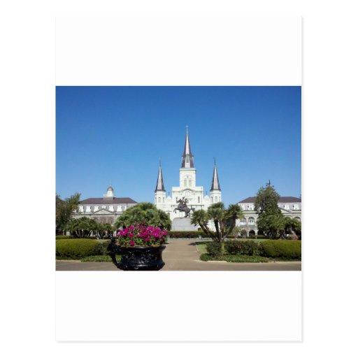 Cuadrado de Jackson, New Orleans Tarjetas Postales