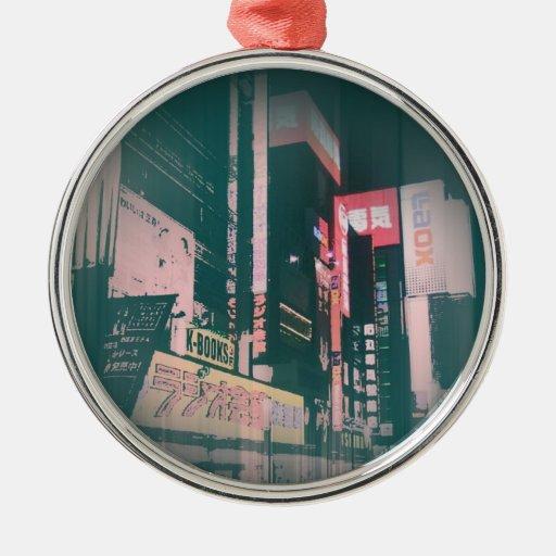 Cuadrado de Japón Tokio Ornamento Para Reyes Magos