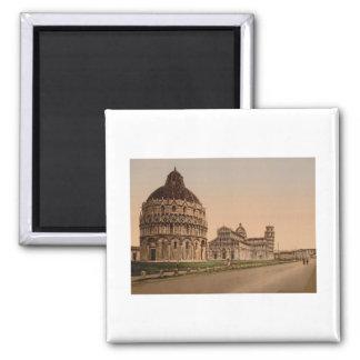 Cuadrado de la catedral, Pisa, Toscana, Italia Imán De Frigorifico