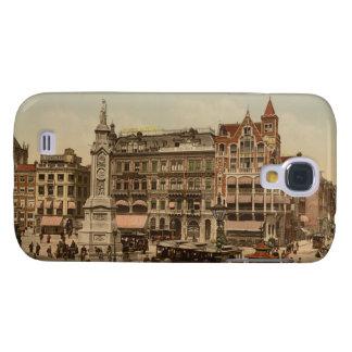 Cuadrado de la presa, Amsterdam, Países Bajos Funda Para Galaxy S4