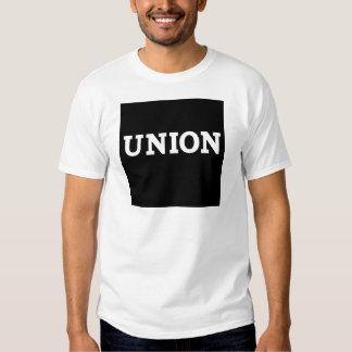Cuadrado de la unión camisas