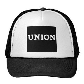 Cuadrado de la unión gorras