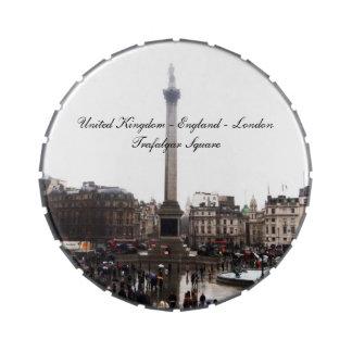 Cuadrado de Londres - de Trafalgar Latas De Dulces