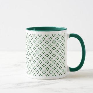 Cuadrado de Lotus del verde caqui