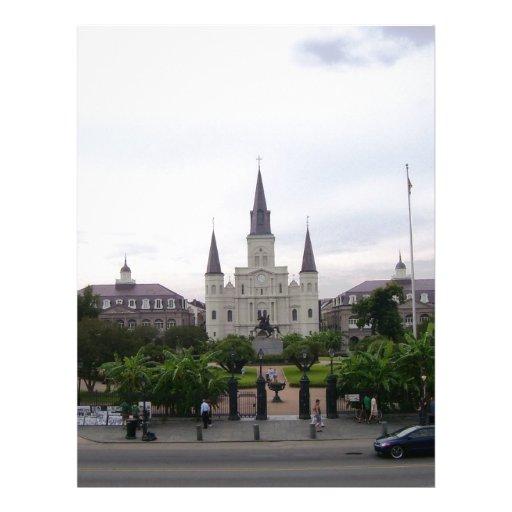 Cuadrado de New Orleans Jackson Membrete