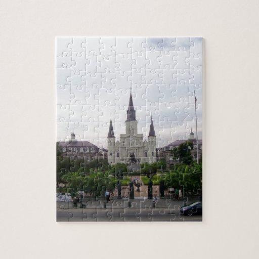 Cuadrado de New Orleans Jackson Rompecabeza