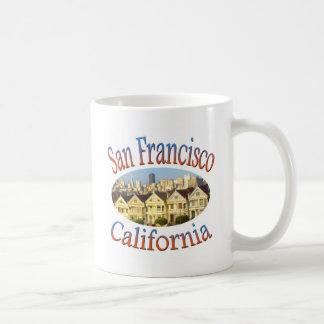 Cuadrado de San Francisco California Álamo Taza