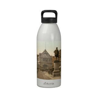 Cuadrado de Shrewsbury, Shropshire, Inglaterra Botellas De Agua Reutilizables