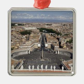 Cuadrado de St Peters, Roma Ornato