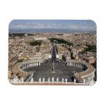 Cuadrado de St Peters, Roma Imanes De Vinilo