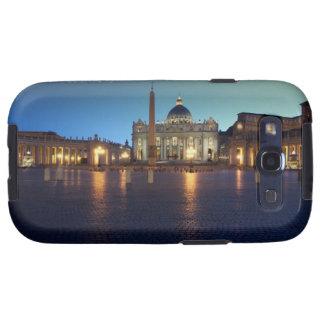 Cuadrado de St Peters, Roma, Italia Galaxy S3 Cárcasas