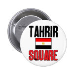 Cuadrado de Tahrir Pin Redondo 5 Cm
