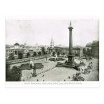 Cuadrado de Trafalgar 1900 Postales