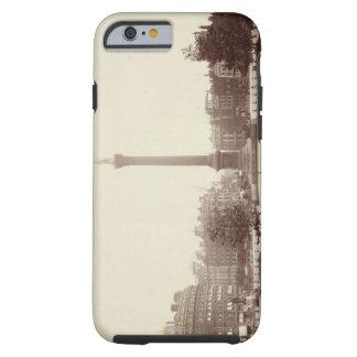 Cuadrado de Trafalgar, Londres (foto de la sepia) Funda Para iPhone 6 Tough