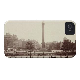 Cuadrado de Trafalgar, Londres (foto de la sepia) iPhone 4 Cárcasa