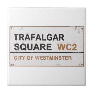 Cuadrado de Trafalgar Londres - muestra del Azulejo Cerámica