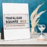 Cuadrado de Trafalgar Londres - muestra del Placas De Madera