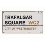 Cuadrado de Trafalgar Londres - muestra del Postal