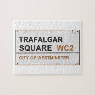 Cuadrado de Trafalgar Londres - muestra del Rompecabezas