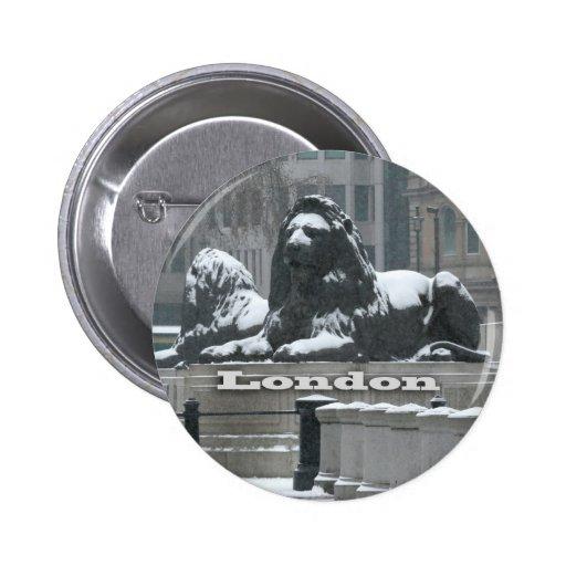 Cuadrado de Trafalgar Londres - nieve Pins