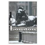 Cuadrado de Trafalgar Londres - nieve Pizarra