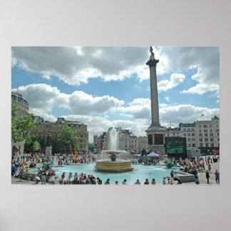 Cuadrado de Trafalgar Poster