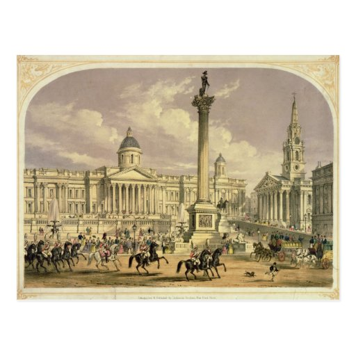 Cuadrado de Trafalgar, publicado por Dickinson Postal