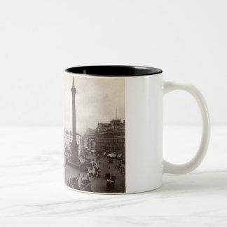 Cuadrado de Trafalgar, vintage de Londres Taza De Café