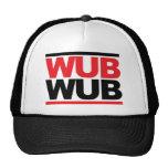 Cuadrado de Wub Wub Dubstep Gorras