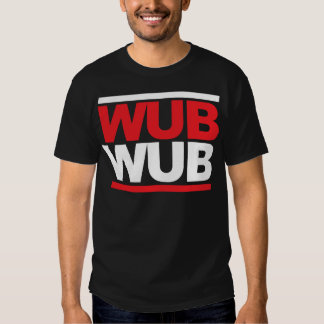 Cuadrado de Wub Wub Dubstep Playeras