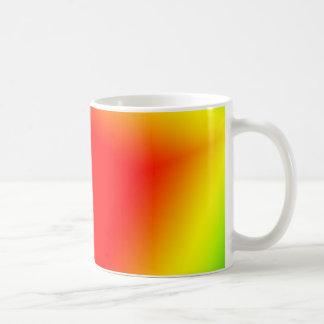cuadrado del arco iris taza clásica