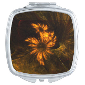 Cuadrado del arte abstracto del jardín de la espejos para el bolso