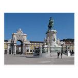 Cuadrado del comercio de Lisboa Tarjetas Postales
