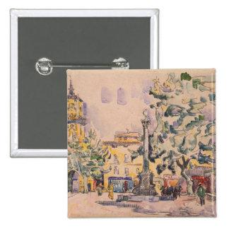 Cuadrado del hotel de Ville en Aix-en-Provence Pin Cuadrado