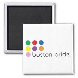 Cuadrado del imán del orgullo de Boston