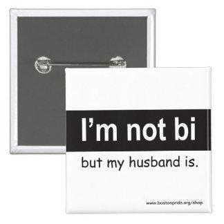 Cuadrado del marido del BI Pin Cuadrado