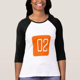 Cuadrado del naranja 2 camisetas