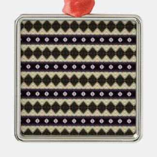 Cuadrado del premio del ornamento del mezclador 2 adorno navideño cuadrado de metal