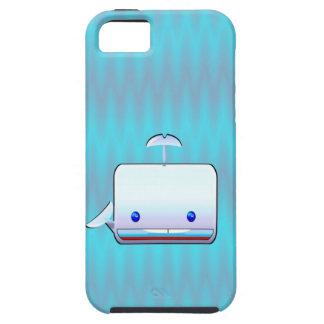 Cuadrado el cuadrado, ballena cúbica iPhone 5 cárcasas