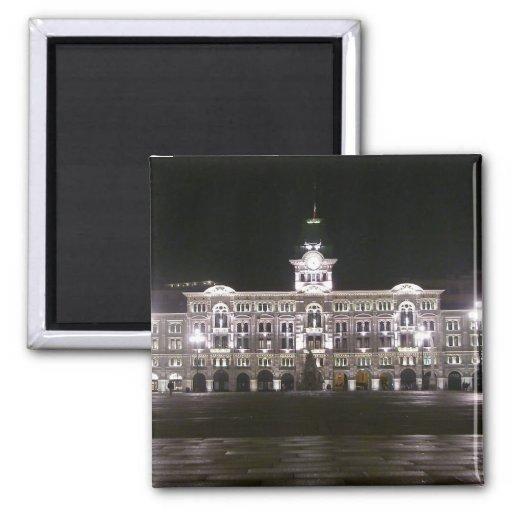 Cuadrado en Trieste Imán Cuadrado