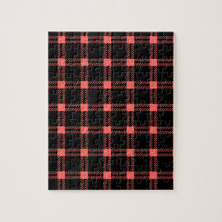 Cuadrado grande de tres bandas - rojo en colores p rompecabezas con fotos