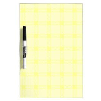 Cuadrado grande de tres bandas - Yellow1 Pizarras Blancas De Calidad