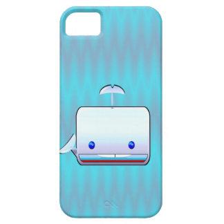 Cuadrado la ballena iPhone 5 protectores