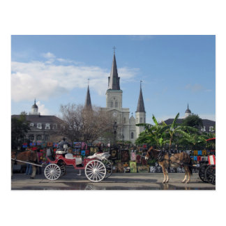 Cuadrado-Nueva Orleans postal de Jackson