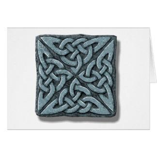 cuadrado-piedra 4 tarjeta de felicitación