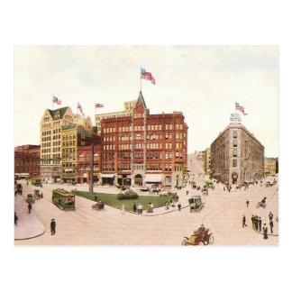 Cuadrado pionero postales