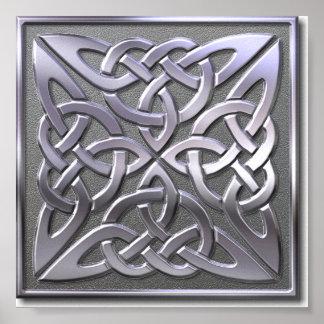 cuadrado-plata 4 póster