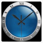 cuadrado retro del reloj del reloj
