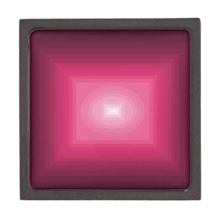 cuadrado rosado rojo del cricketdiane - los 9-9z-9 caja de joyas de calidad