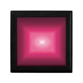 cuadrado rosado rojo del cricketdiane - los 9-9z-9 joyero cuadrado pequeño